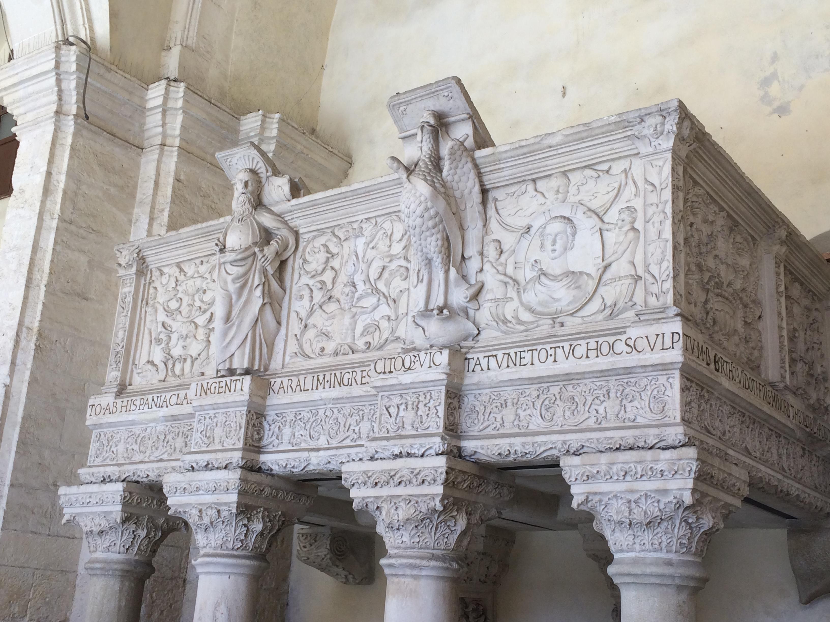 Il pulpito di Carlo Quinto[Pulpit of Charles V]