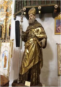 Statua di Sant'Agostino[Statue of Saint Agostino]