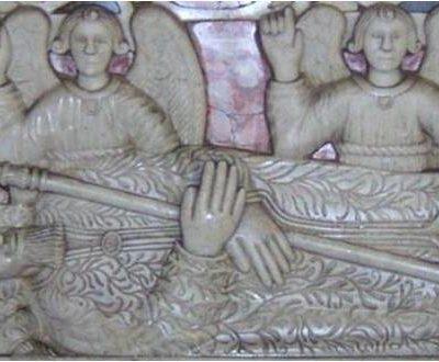 Particolare dell'altare[Detail of the altar]