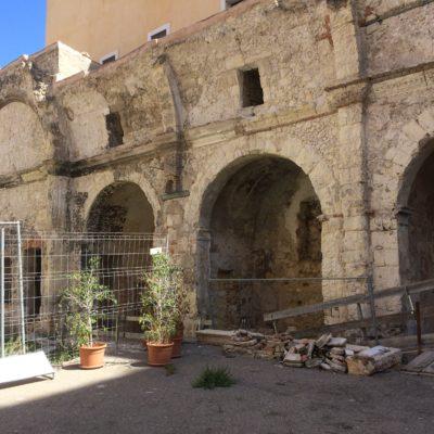 Ruderi della chiesa[Church ruins]