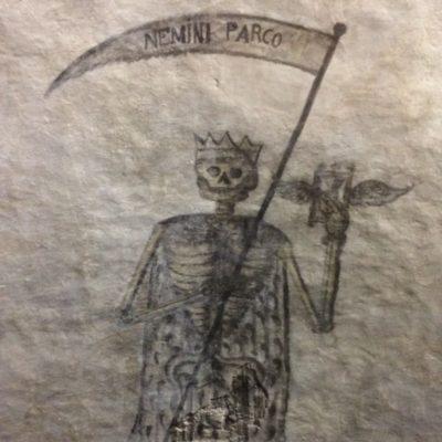 Dipinto della Morte[Painting of Death]