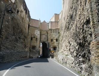Porta San Pancrazio[St. Pancras gate]