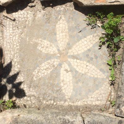 Mosaico a forma di fiore[Flower mosaic]