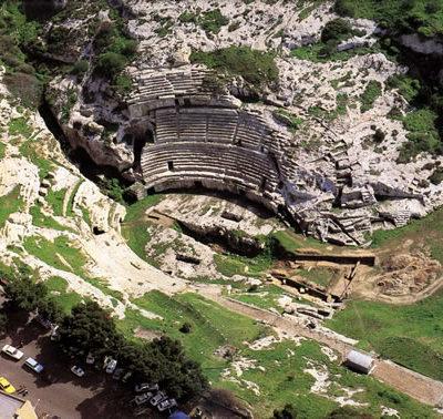 L'anfiteatro dall'alto[View from above]